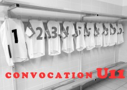 CONVOCATIONS U11 DU SAMEDI 3/12/2016