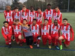 L'entrainement est ouvert pour les nouveaux joueurs U17