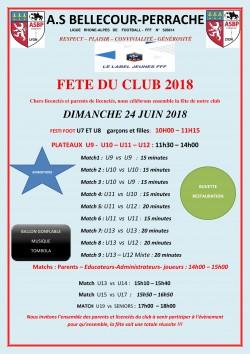 FETE DU CLUB 2018