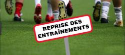 REPRISE DES ENTRAÎNEMENTS U13 ET U15