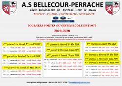 RECRUTEMENT ECOLE DE FOOT 2019/2020