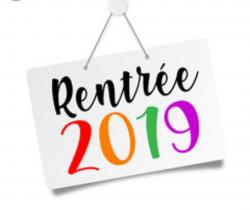 RENTRÉE SPORTIVE 2019-2020