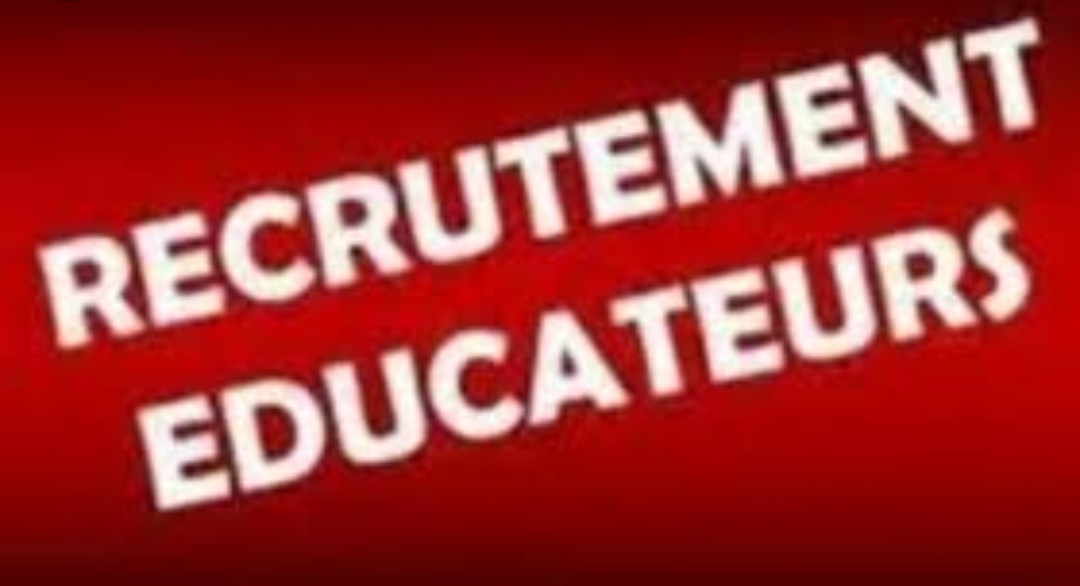 RECRUTEMENT EDUCATEURS ÉCOLE DE FOOT 2019-2020