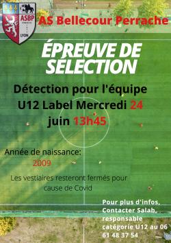 Détection U12