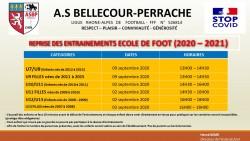 RENTREE SPORTIVE 2020 - 2021 DE NOTRE ECOLE DE FOOT