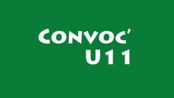 CONVOCATION U10 ET U11F